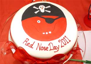 Red Nose Cake Images : Pinner Local - red nose day 2011