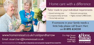Pinner Local - Want First Class Care Services ?
