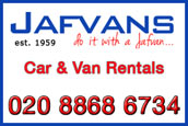 Jafvans Car Hire Pinner